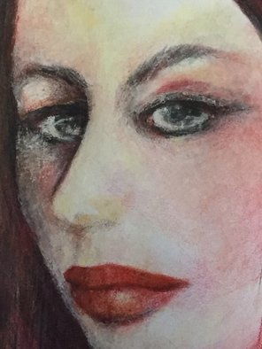 Luise Andersen Artwork detail II  JULY 14 2015 , 2015 detail II  JULY 14 2015 , Portrait