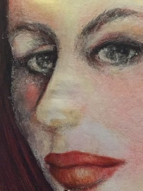 Luise Andersen Artwork detail I started with lines JULY 13 2015, 2015 detail I started with lines JULY 13 2015, Portrait