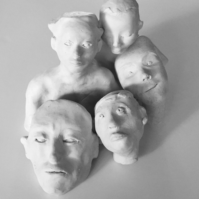 Luise Andersen  'Feel In Clay Continues', created in 2017, Original Fiber.