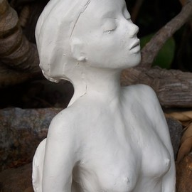 Luise Andersen: 'handsOnClay IM January twentytwoToOTwelve', 2011 Other Sculpture, Figurative. Artist Description:  . . monitor burnt out. . was not able to go on my page. . today borrowed an old one. . and while it still works. . will upload sculpture still many touches to do. . . . later on today also photography and drawing. . ...