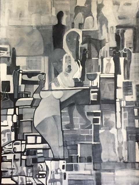 Luise Andersen Still On Easel 3 2017