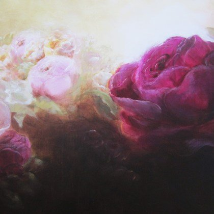 , The Wild Rose Garden, Floral, Sold