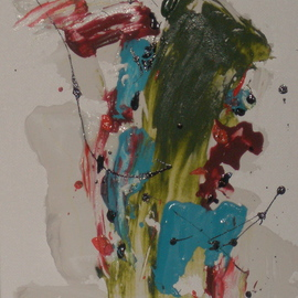 Small Abstract Expressionist Composition 281