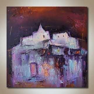 Stanislav Lazarov Artwork Fortress, 2015 Oil Painting, Abstract