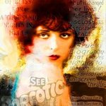 Clarabo Clara Bow Pop Art, Leah Devora