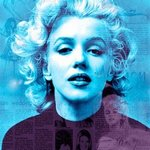 Marblue Marilyn Monroe Marilyn Monroe Pop Art, Leah Devora