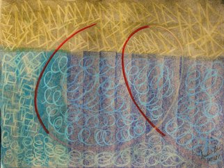 Leandro Arruda: 'spiral', 2013 Pastel, Abstract Figurative. Artist Description:           dry pastel abstract art            ...