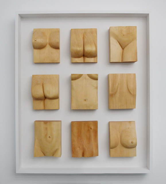 Lee Forester  'Nicole In Pieces', created in 2019, Original Sculpture Wood.