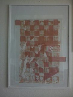 Anya Knoche: 'CITY  RYTHM', 2006 Serigraph, Abstract. Artist Description:      SERIGRAPHIC  ORIGINAL  OILPRINT         ...