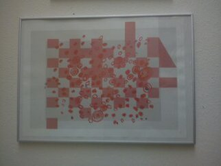 Anya Knoche: '      CITY     RYTHMS', 2006 Serigraph, Abstract. Artist Description:    SERIGRAPHIC  ORIGINAL  OILPRINT       ...