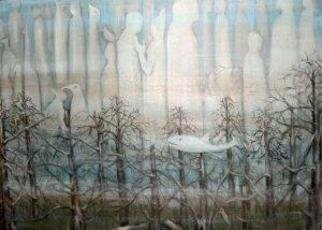 Rita Levinsohn: 'The Hidden World of Ponds', 2005 Acrylic Painting, Visionary. Worlds that exist beyond our vision. ...
