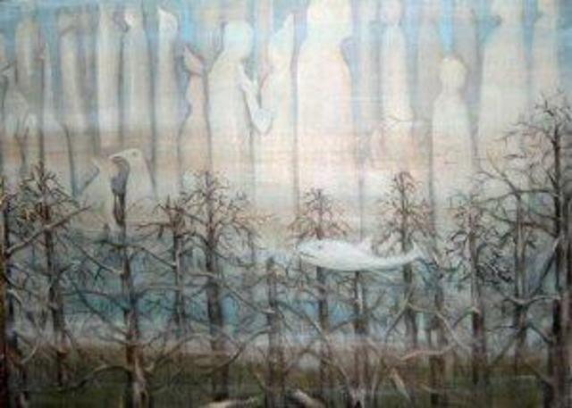 Rita Levinsohn  'The Hidden World Of Ponds', created in 2005, Original Printmaking Giclee.