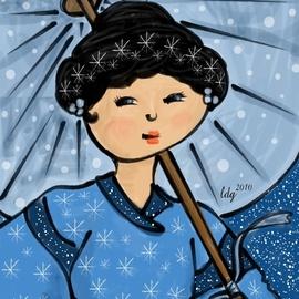 Asian Snow Princess