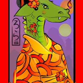Year of the Dragon Geisha