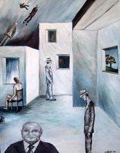 - artwork I_am_the_Boss-1314888874.jpg - 2011, Painting Oil, Figurative