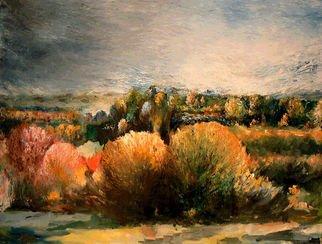 Artist: Leif M�rdh - Title: OCTOBER SYMPHONY - Medium: Oil Painting - Year: 2014