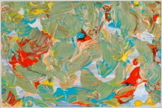 Nina Gabriel: 'Ocean of Abundance', 2006 Acrylic Painting, Abstract.  Painting Acrylics on special paper4