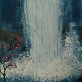 waterfalls By Lekshmy Sathi