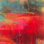 abstract landscape no 1 By Lelia Demello