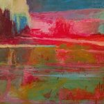 abstract landscape no 2 By Lelia Demello