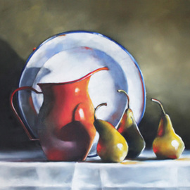 Still Life with Ladybug By Daniele Lemieux