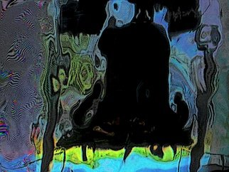 Leonard Te Nyenhuis: 'Liberty Bell', 2011 Giclee, Political.          This is an over painted altered foto that has been enhanced on the computer. It is printed out, painted over, and reworked several times. I use all possibilities to create my images, what matters to me is the end result, the originals are usually 10 x 15  cm. They are...