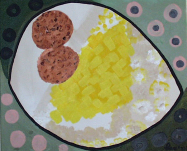 Leo Evans  'EGGS GRITS AND STRAWBERRY JAM', created in 2002, Original Photography Color.