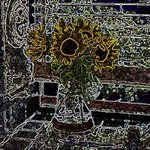 SUNFLOWER 6 By Leo Evans
