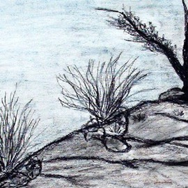 Leo Evans Artwork THE PLACE DRAWING 3, 2012 Other Drawing, Abstract Landscape