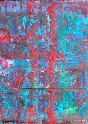 Leo Evans: 'chinatown', 2011 Other, Abstract. ChinaTown   Acrylic on Canvas   17x18   by Artist: Leo Evans...
