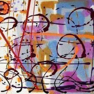 Leo Evans Artwork love stew, 2012 Acrylic Painting, Abstract