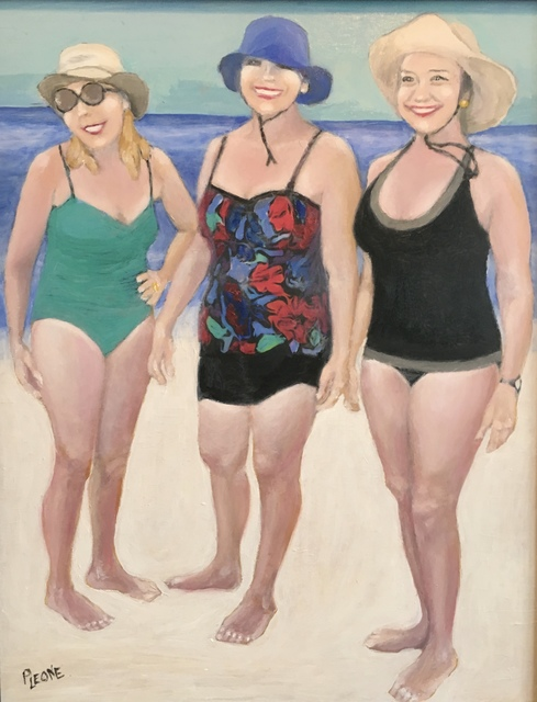 Patricia Leone  'Boomers On Tybee', created in 2018, Original Digital Print.