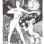 Flora Dancing With Faun, Annie Dachinger