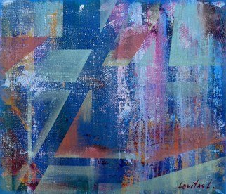 Liudmyla Levitas: 'morning walk', 2018 Acrylic Painting, Abstract. Artist Description: My paintings are 100  handmade, original artwork, dated and signed.The painting make using Amsterdam Acrylic Colors by Royal Talens...