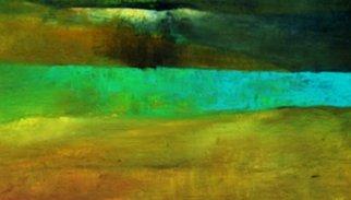 Artist: Leyla Murr - Title: Somewhere Blue - Medium: Acrylic Painting - Year: 2014