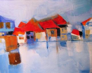 Artist: Leyla Murr - Title: Toscana - Medium: Acrylic Painting - Year: 2010