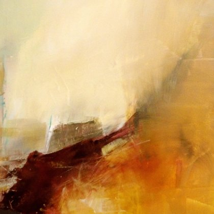 , Misty Valley , Abstract, $1,575