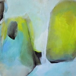 , Conversation, Abstract, $1,575