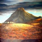 Storm over Spandaukop By Lez Dor