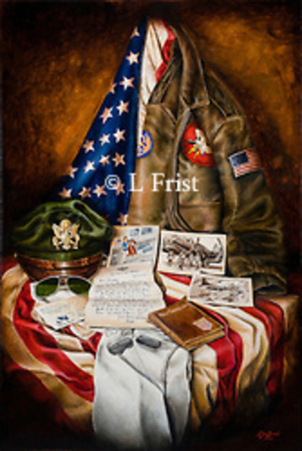 Lisa Frist  'They Gave Their All', created in 2014, Original Painting Oil.