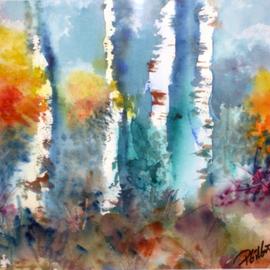 Birches and Aspen