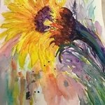 sunflower for you By Pamela Gilbert