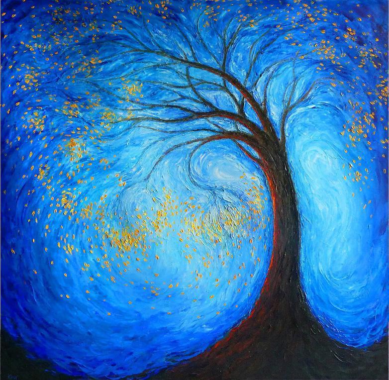 Lidia Kirov Artwork Tree Of Life Original Printmaking Giclee