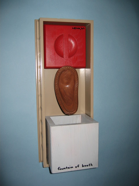 Artist Gregory Liffick. 'Fountain Of Booth' Artwork Image, Created in 2007, Original Sculpture Mixed. #art #artist