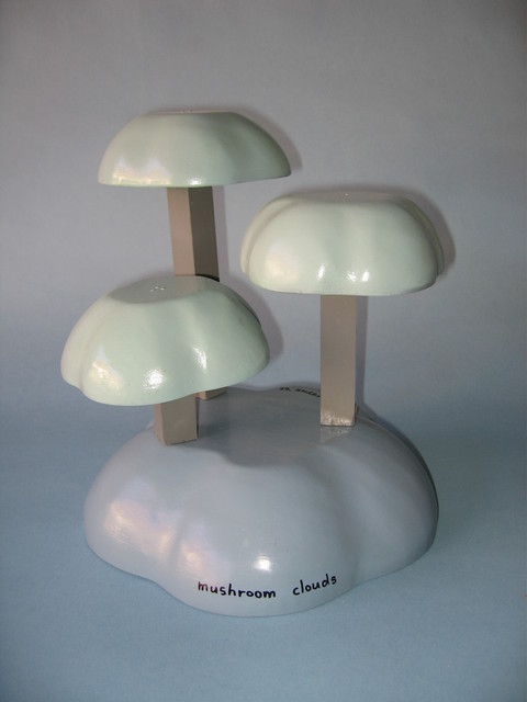 Gregory Liffick  'Mushroom Clouds', created in 2006, Original Sculpture Mixed.