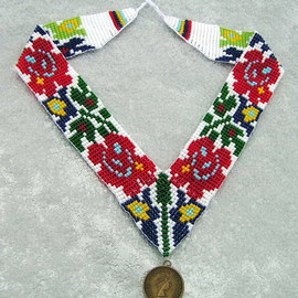 National ukrainian  jewelry Gerdan By Rac Lila