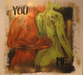 Lili Oest Artwork You, me, 2011 Acrylic Painting, Body