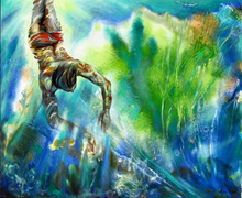 - artwork Diver-1293921156.jpg - 2010, Painting Oil, undecided