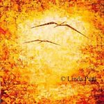 Flight  Abstract Art painting By Linda Paul