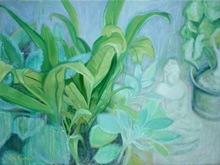 - artwork Meditation_Garden-1279264359.jpg - 2010, Pastel Oil, Still Life